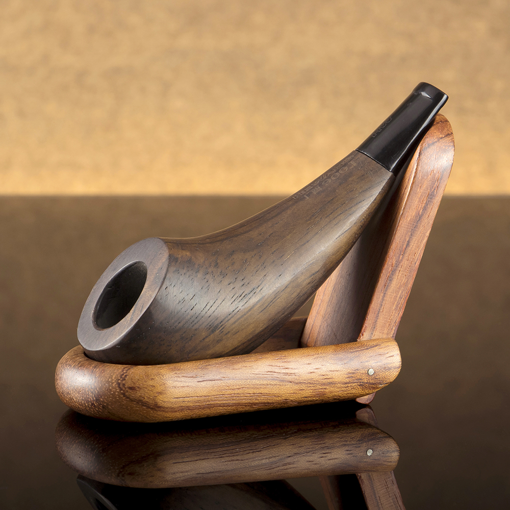 Classic Mini Smoking Pipe 3mm Metal Filter Tobacco Pipe Handmade Ebony Wood Pipe with free tools Wooden Pipe Smoke Accessory