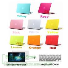 3в1 матовый прорезиненный чехол-накладка для Mac book Pro retina 13 15 Air 11 12 13 чехол для Macbook Touch bar A1706 A1707