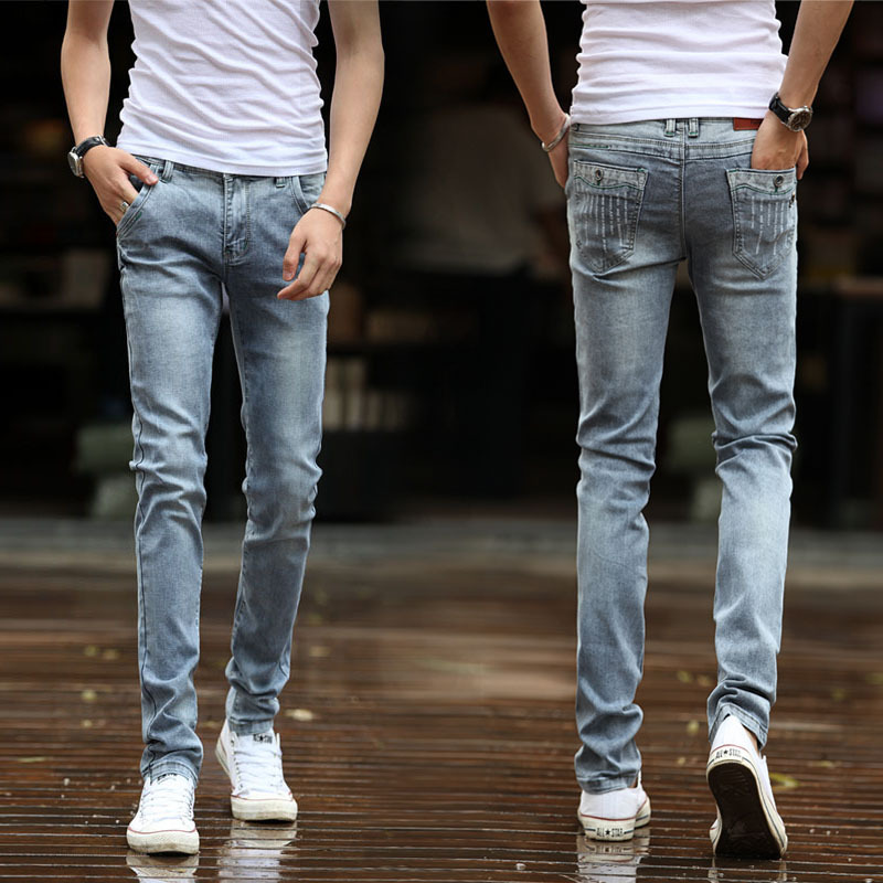 Aliexpress.com : Buy Free Shipping Men's jeans /fashion and slim ...