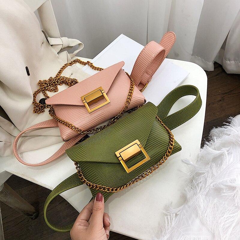 Bag For Women 2019 Fanny Pack Ladies New Fashion Leather Waist Belt Bag Mini Disco Waist Bag Women's Small Shoulder Bags Purse