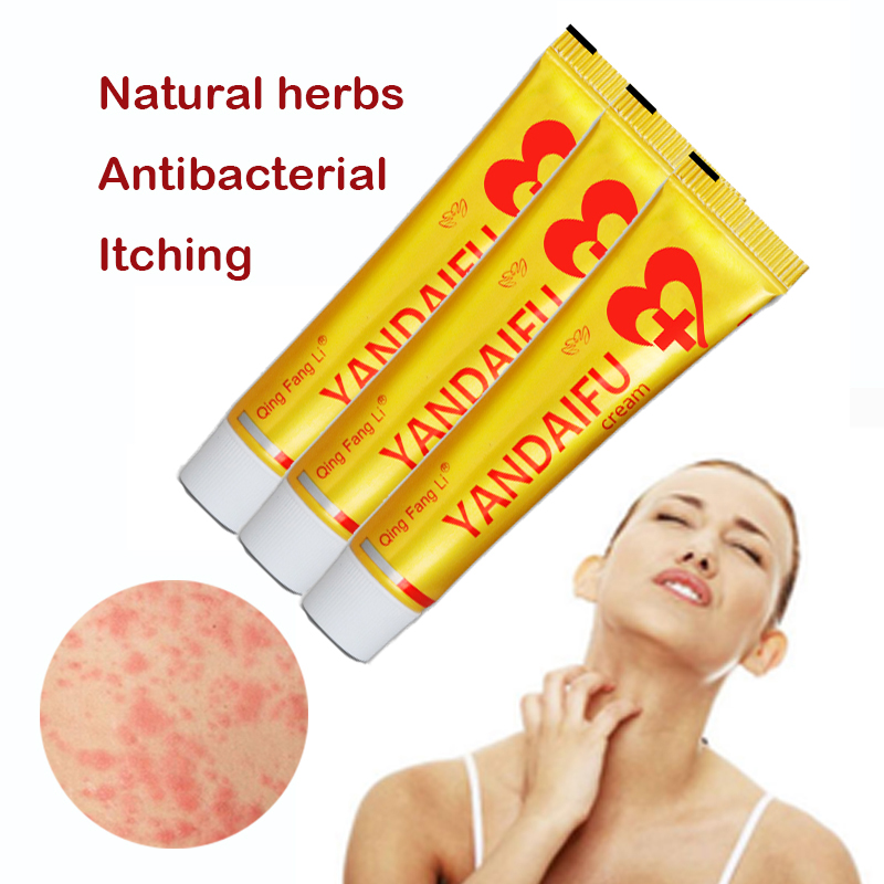 10pcs Yandaifu Original Psoriasis Dermatitis Eczema Pruritus Skin Problems Cream Analgesic Arthritis 15g Dropshipping