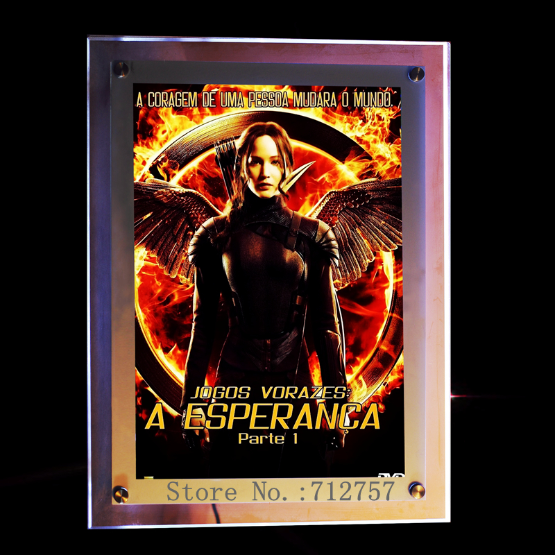 Popular lighted movie poster frames buy cheap lighted for Buy posters online cheap