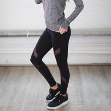 Net Yarn Yoga Pants