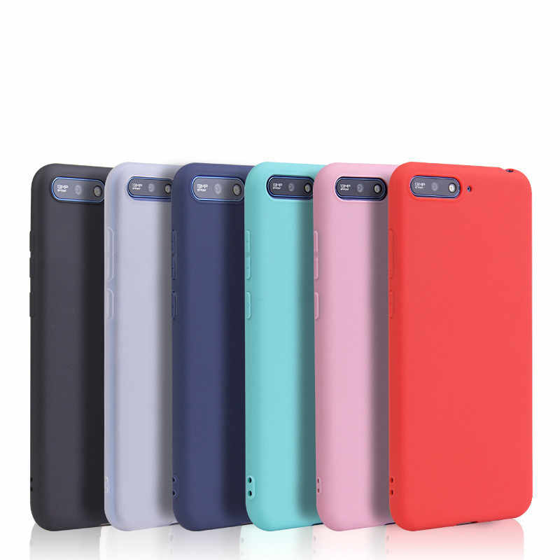 For Huawei P8 P9 P10 P20 Lite Plus P30 Pro 2017 P Smart 2019 Case For Huawei Mate 7 8 9 10 20 X Lite Pro Candy Color Full Cover