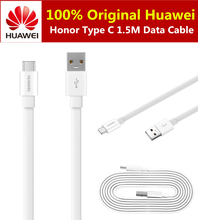 10pcs/lot Original Huawei Honor Type-C USB Data Cable 1.5M Fast charge type c cable For Huawei P9 Plus Nova XIAOMI Data Sync