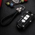 Подарочный Роскошный чехол-держатель для ключей с бриллиантами для Mazda 6 CX-5 Atenza CX-7 CX-9 Смарт брелок аксессуары для защиты ключей