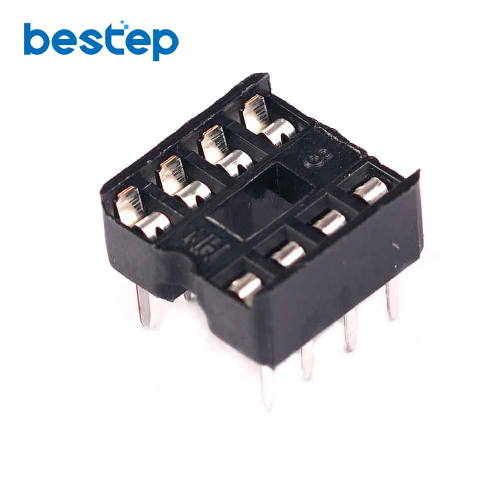 60pcs 8pin Dip Ic Sockets Adaptor Solder Type 8 Pin In Integrated 60 Watts Linear Amplifier With Irf840 Circuits From Electronic Components Supplies On Alibaba Group