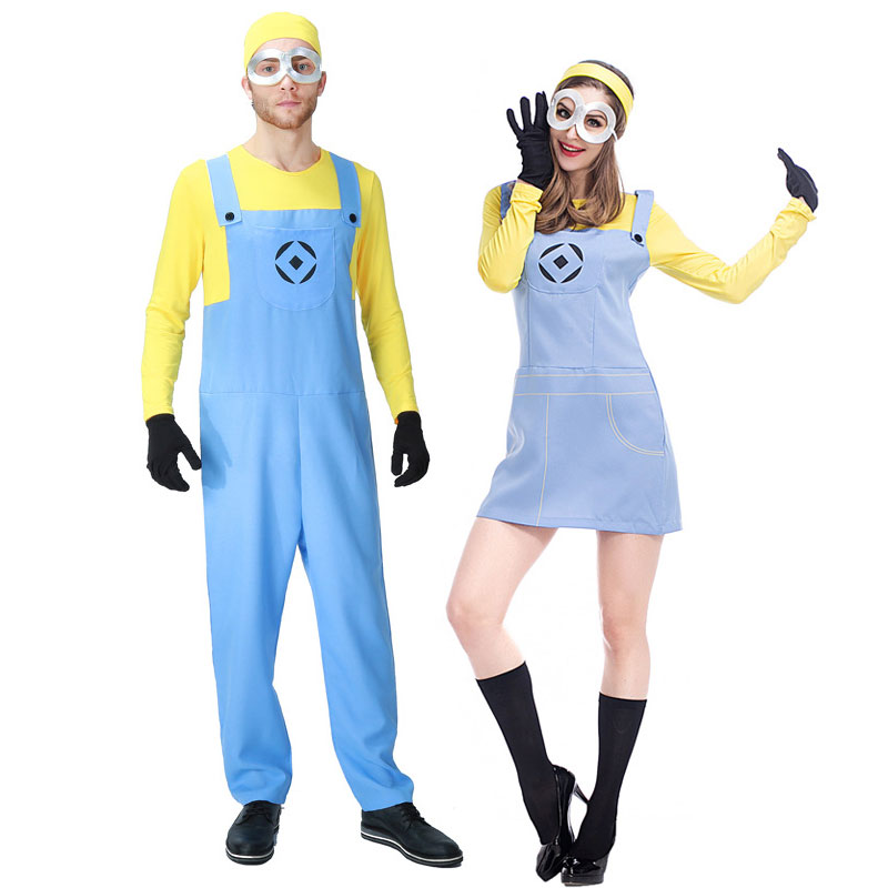 Umorden Movie Despicable Me Costumes Minion Costume for Men Women Minions Cosplay Funny Yellow Guy Fancy Dress Couple  sc 1 st  zooqi review - trafficmanager.net & Umorden Movie Despicable Me Costumes Minion Costume for Men Women ...