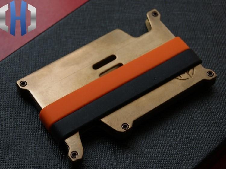 EDC 真鍮パンクレトロカード財布クリップ EDC 財布  グループ上の ツール からの バール の中 1