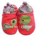 Free shipping 8pairs/lot Guaranteed 100% soft soled Genuine Leather baby shoes baby first walker dr0007-47