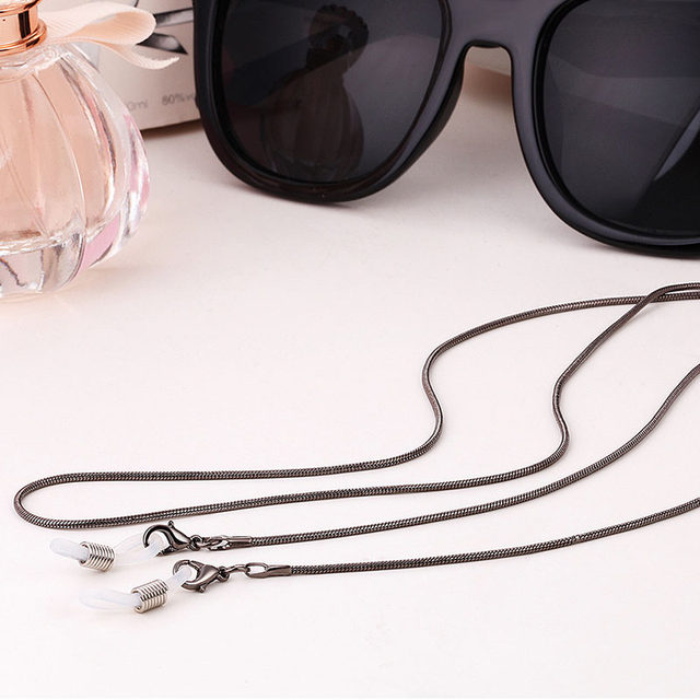 Online Shop New Copper String Eyeglasses Chain Reading glasses Metal ...