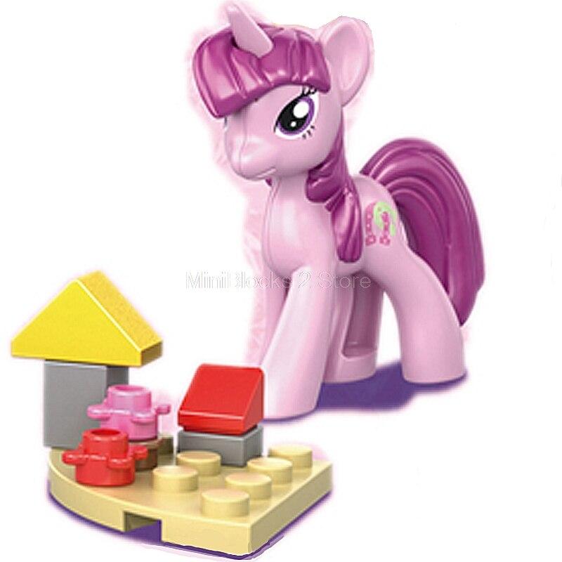Hewan Teman Putri Kartun Lucu Saya Kuda Kecil Anna Elsa Angka Blok Bangunan Sy682 Hewan Pencipta Anak Anak Mainan Kit Blok Aliexpress