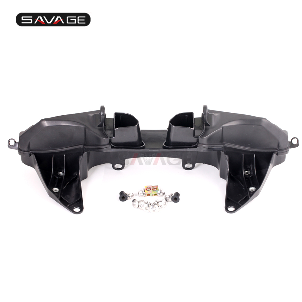 Headlight Fairing Mirror Cowling Stay Brackets For HONDA CBR 600RR CBR600RR 2007-2017 2015 2016 Headlamp Mount Support Stand