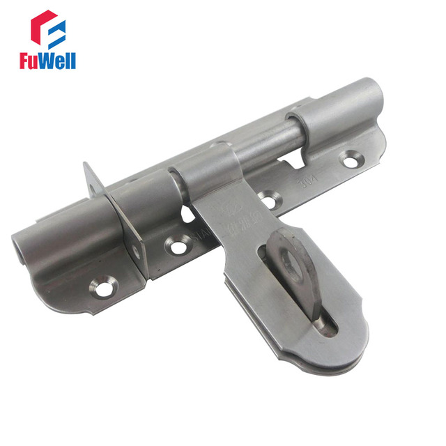 door bolt locks antique stainless steel 4