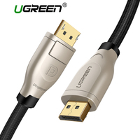 Ugreen 4K 1 2 Display Port DP Male To DisplayPort Dp Male Gold Plated DP Cable