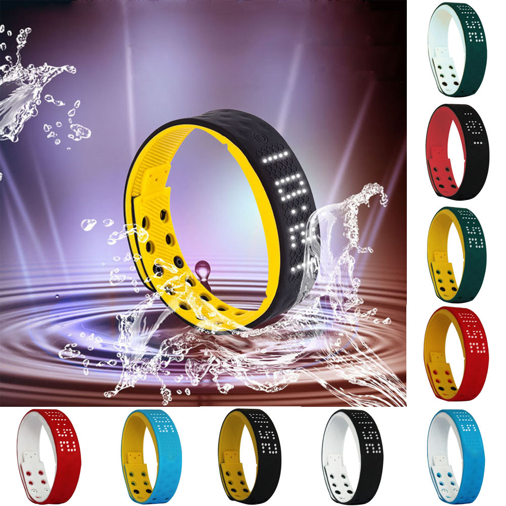 Hot 2017 New FashionSuperior Men Women TECNIC TW2 Flex Band Fitness Waterproof Bluetooth Smart Bracelet For IOS / Android Oct 11
