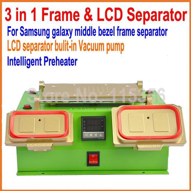 Nieuwe 3 In 1 Multifunctionele Lcd Reparatie Machine Ingebouwde