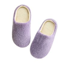 LOOZYKIT Fur Furry Slipper Women Sandals Shoes Warm Slippers Bedroom Floor Shoes chaussures(China)