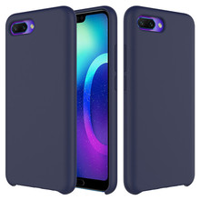 Soft TPU Original Liquid Silicone Cover For Huawei Mate 20 Pro For Huawei P30 P20 Lite P20 Pro Case For Honor 10 9 Lite 8X Case(China)