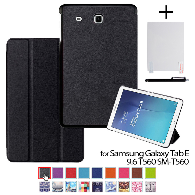 promo code e1661 82ef4 US $9.62 30% OFF|Aliexpress.com : Buy For Samsung Tab E 9.6 T561 Auto Sleep  Leather Cover Case funda For Samsung GALAXY Tab E 9.6 T560 SM ...