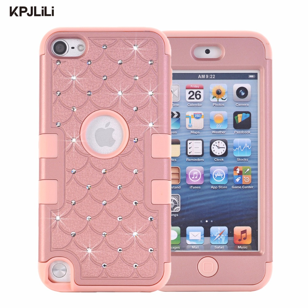 Aliexpress.com : Buy Glitter Case for iPod Touch 5 6 5th ...