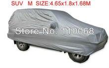 ВНЕДОРОЖНИК Автомобиль Обложка Водонепроницаемый Сопротивление снега для Honda Паладины Hyundai Kia джип Outlander Volkswagen Qashqai M 4.65*1.8*1.68 м крышка автомобиля