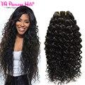 Fa Peerless Hair Products 4 Bundles 7A Brasileño de la Virgen de la Onda de Agua Del Pelo Bundles Brasileño Onda Natural Virgen Subella Pelo