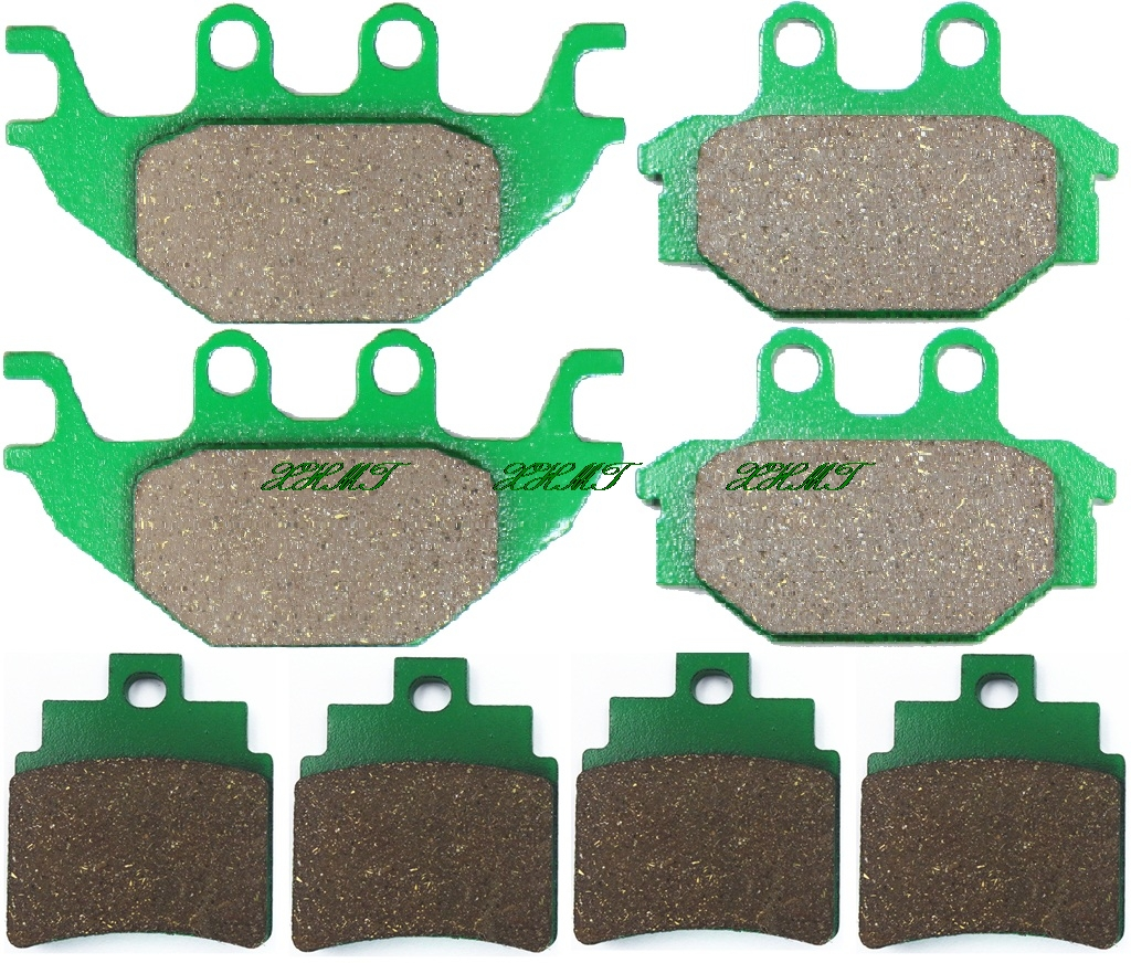 REAR BRAKE PADS KYMCO MXU 150 2005 2006 2007 2008 2009 2010 2011 2012