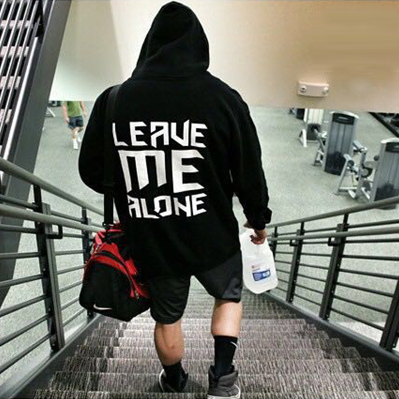 2019 new gyms men and women casual fitness hooded sweatshirt Outdoor running fitness hoodie Fashion trend youth fitness tops