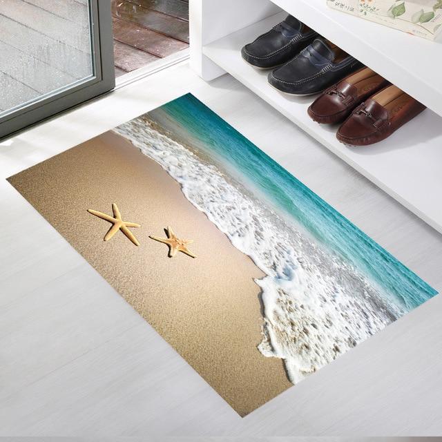 3D Strand Wellen Boden Aufkleber Für Kinderzimmer Wasserdicht Bad ...