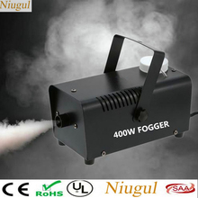 جهاز التحكم عن بعد اللاسلكي 500 واط آلة لصنع الدخان مع أضواء RGB LED/400 واط آلة الضباب/قاذف الدخان تأثير المرحلة ديسكو DJ الطرف/مبيد