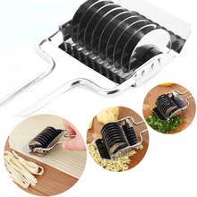 Pressing-Machine Shallot-Cutter Kitchen-Tool Noodle-Cut Pastry Manual Stainless-Steel
