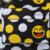 2016 MODA Priting de Smiley Lienzo Ocasional Del Bolso de Escuela Niños Bolsos de Escuela Para Los Adolescentes de Las Mujeres Mini Sonrisa Sonrisa Bolsa de Libros niños