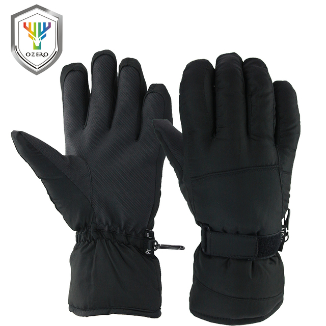 OZERO Warm Gloves Outdoor Waterproof/Windproof  -30 Degree Work Security Protection Safety Workers Winter Gloves