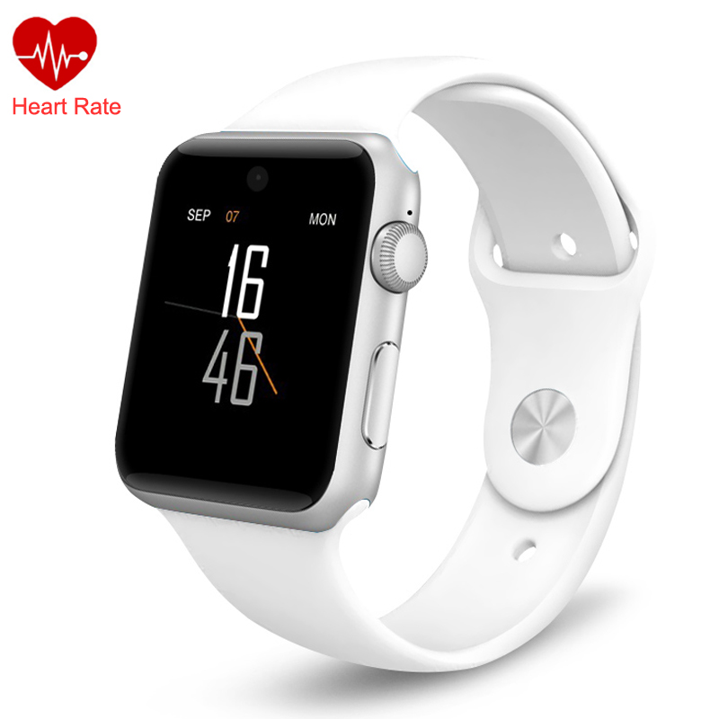 Sports Smart Watch Heart Rate Monitor HD Screen Support SIM Card Fitness Tracker DM09 SmartWatch Clock Sync Bluetooth for Phone smartwatch hd screen support sim card bluetooth devices smart watch magic knob for apple android phone dm09 pk dz09 gt08 watch
