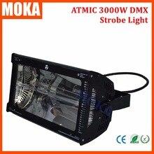 220 V 240 V Atômica 3000 W Martin Strobe Light 3000 W luz Estroboscópica DMX512 strobe flash light para estágio luz de exposição bar
