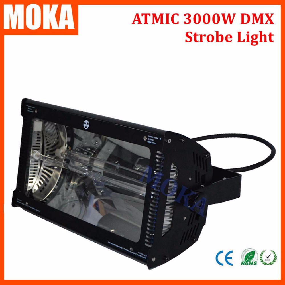 220V-240V Atomic 3000W Martin Strobe Light 3000W Strobe light DMX512 strobe flash light for stage exposure light bar цена