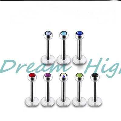 HENGKE Jewelry Labret Ring...