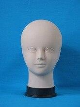 plastic female Cosmetology mannequin head for makeup practice makeup training Manikin head hairdresser mannequin head