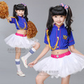 Children DS Dance Wear Hip Hop  Dance Costume Cheerleading Clothing Modern Ballroom Dance Dress Jazz Dance Clothing