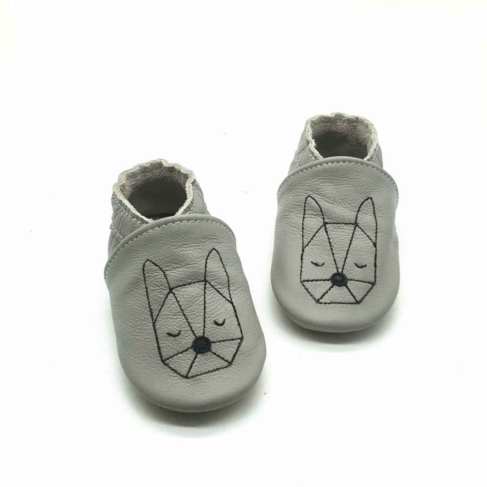 6219d5a6e ... Latest Animal Baby Shoes Handmade Genuine Leather Baby Boy Moccasins  Shoes Non-Slip Soft Sole ...