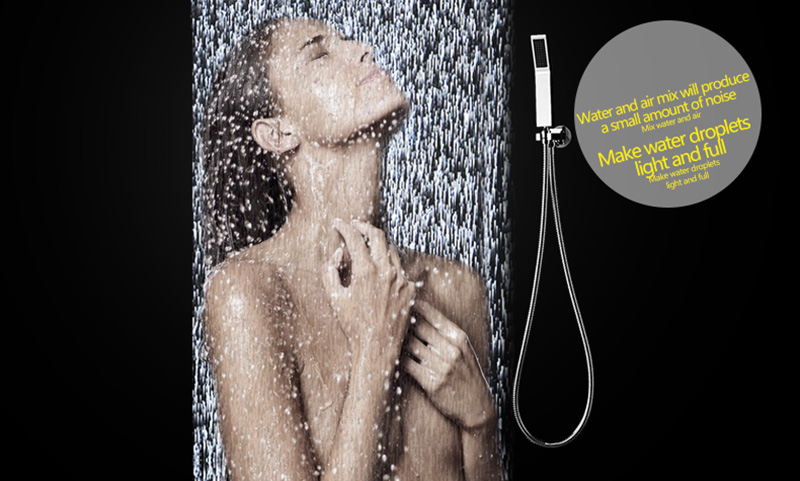 Thermostatic Bath Room Shower Faucets Shower Head 6 Massage Jets Spa Body Spray Shower Set (11)