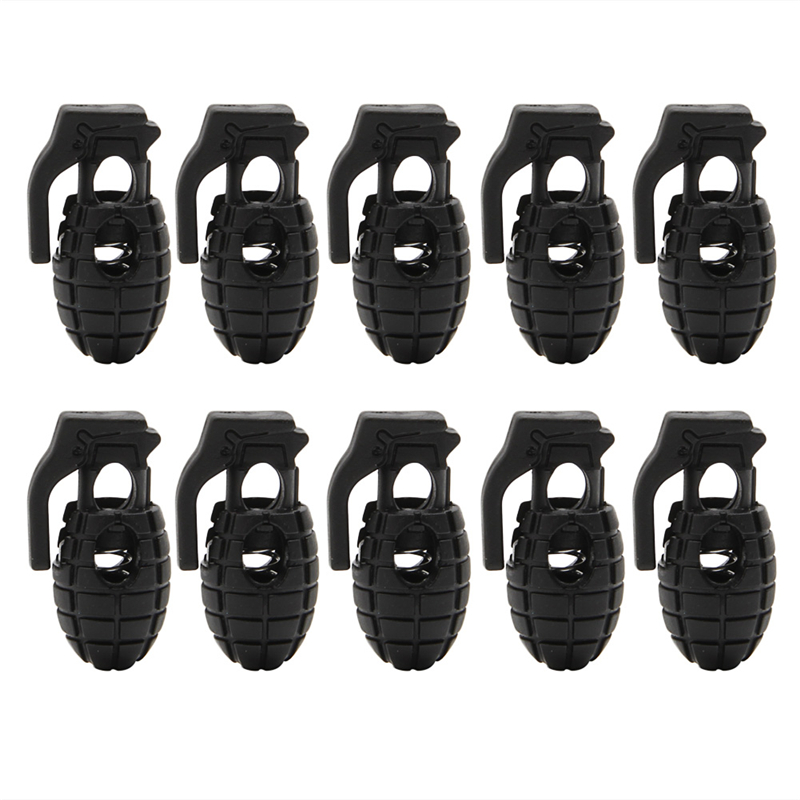 10Pcs Anti -slip Shoes Buckle Non-Slip Black New Men Plastic Buckle High Quality Convenient Easy Small