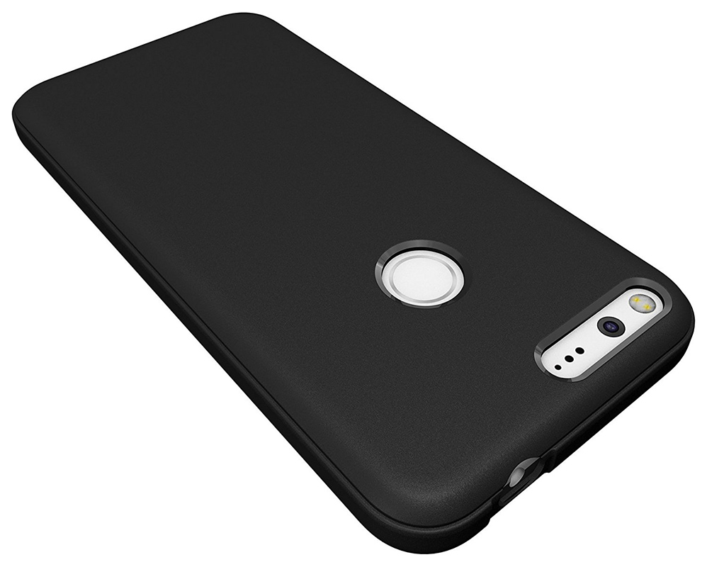 Ματ μαύρες θήκες για Google Pixel Anti-Scratches TPU - Ανταλλακτικά και αξεσουάρ κινητών τηλεφώνων - Φωτογραφία 4