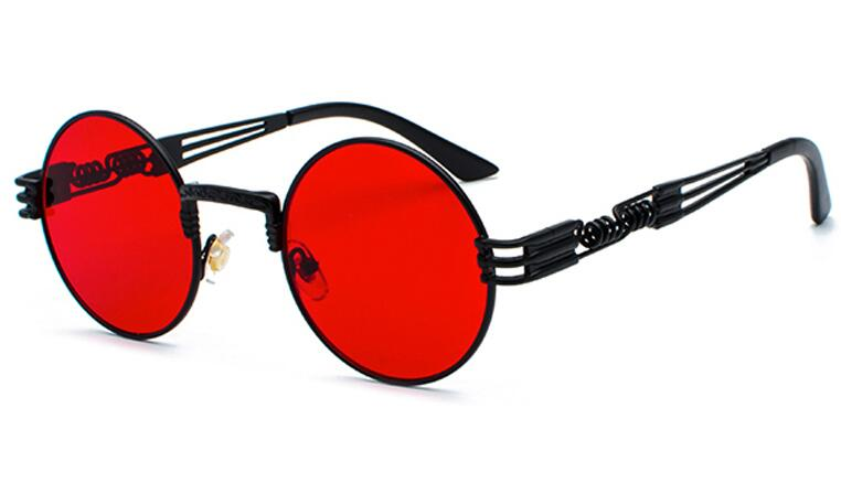 black clear red