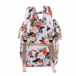 Image 4 - Yeni moda bebek bezi çantası sırt çantası büyük kapasiteli bebek çantası bezi çantası bebek bakımı annelik seyahat sırt çantası en kaliteli