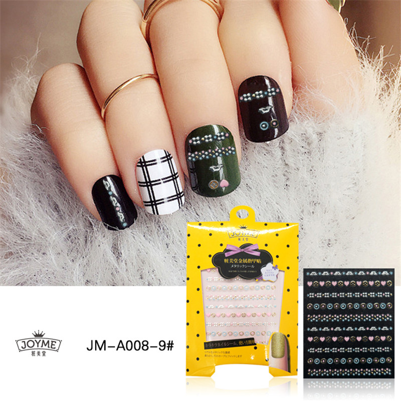 Nail Art Sticker Private Lable Design Decals Decorations Gel Stickers Accessory Manicure Fashion