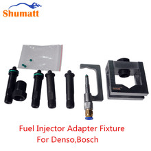 Universal Diesel Engine Common Rail Clean Tester Fuel Injectors Adapter Clamp Fixture Repair Kits Suit for Denso/Bosch