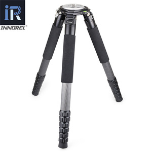 Image 3 - RT90C top level Carbon Fiber Tripod professional Birdwatching heavy duty camera stand 40mm tube 40kg load 75mm bowl adapter