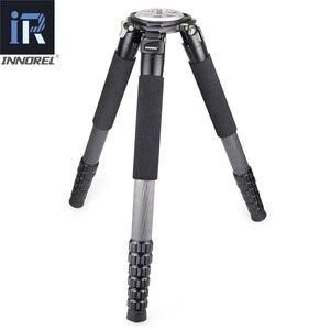 Image 3 - RT90C trépied en Fiber de carbone de haut niveau professionnel observation des oiseaux support de caméra robuste 40mm tube 40kg charge 75mm adaptateur de bol